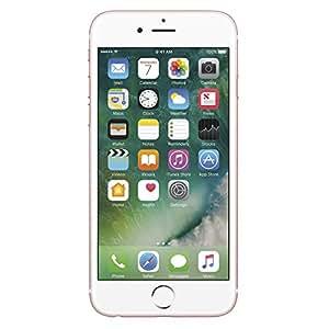 Apple iPhone 6s Smartphone (11,9 cm (4,7 Zoll) Display, 64GB interner Speicher, IOS) rosegold, Freigesetzter Version