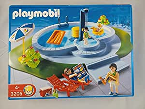 Playmobil 3205 piscine et famille jeux et for Piscine de playmobil