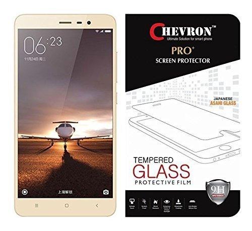Chevron Xiaomi Redmi Note 3 Screen Protector, Premium Oil Resistant Coated Tempered Glass Screen Protector Film Guard for Xiaomi Redmi Note 3, Anti-explosion