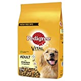 Pedigree Dog Complete Dry with Chicken and Vegetables, 12 kg