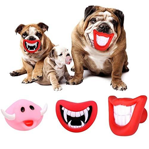 Trade Shop traesiogioco de Mordere para Perros Smile con Sonido De Goma...