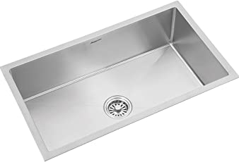 Anupam Royale Stainless Steel Single Bowl Finish Sink for Kitchen Model : RS1018LS