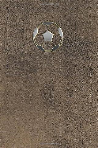 Monogram Football, Soccer Journal: Volume 64 (Monogram Buffalo 365 Lined)