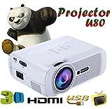 Best Proyectores - UHAPPY El mini proyector HD 3D portátil de Review