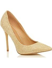 Or Escarpins / Chaussures femme : Chaussures et Sacs