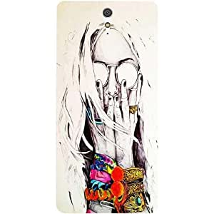 Casotec Fashion Pattern Design Hard Back Case Cover for Sony Xperia C5 Ultra Dual