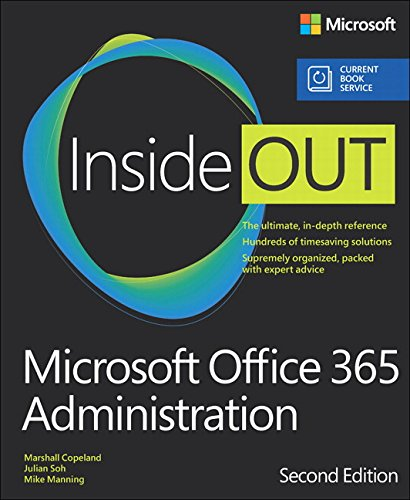 Preisvergleich Produktbild Microsoft Office 365 Administration Inside Out (includes Current Book Service)