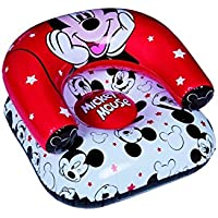 Disney, Mickey Mouse 46166-S Strandsitz, aufblasbar, PVC, Rot/Weiß / Schwarz, Einheitsgröße preisvergleich bei kinderzimmerdekopreise.eu