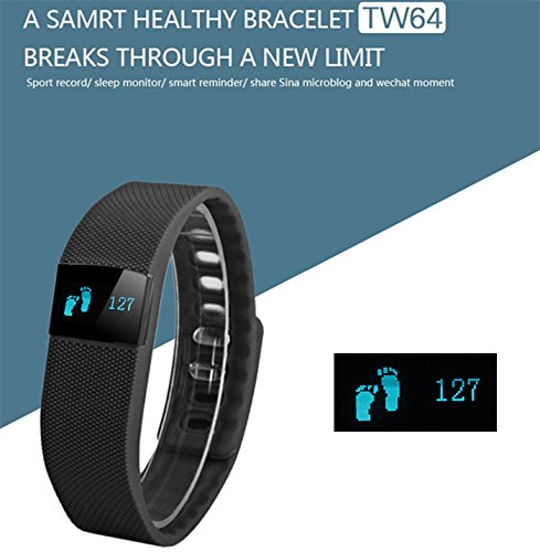 Micromax Bolt D320 Compatible Display Bluetooth 4.0 Waterproof Smart Bracelet, Support Pedometer / Sleep Monitoring / Call Reminder / Clock / Remote camera / Anti-lost Function BY ESTAR  available at amazon for Rs.999