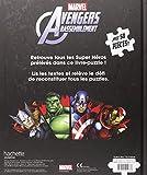 Image de Mon livre puzzle Avengers rassemblement : Avec 50 pièces