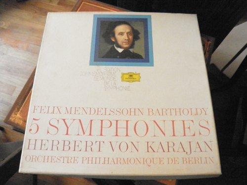Occasion, Félix Mendelssohn Bartholdy- 5 symphonies - Herbert d'occasion  Livré partout en Belgique
