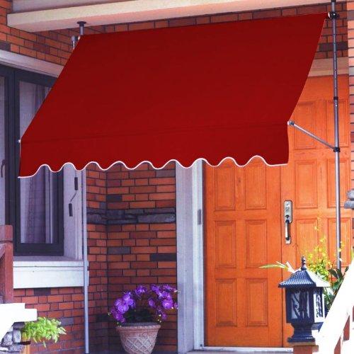Tenda da sole ponza dimensioni 2.5x1.5, colore bordeaux
