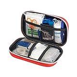 FOONEE Erste-Hilfe-Ausrüstung, Waterproof Outdoor Medical Emergency Bag für Wandern, Backpacking, Camping, Reisen, Auto und Radfahren
