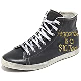 HAPPINESS 80776 Sneaker Shoes Olympia PROUDUY HANDMANDE in Italy Scarpa Uomo SHO [43]