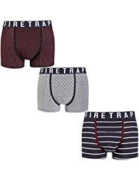 Firetrap Boxer Shorts - Various Colours - Multiple Options - Perfect Gift! (New Range)