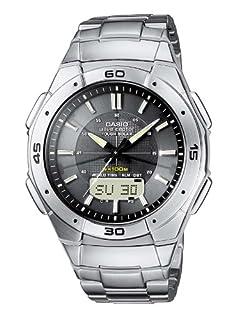 Casio Radio Controlled Men's Watch WVA-470DE-1AVEF (B001CZZDQI) | Amazon price tracker / tracking, Amazon price history charts, Amazon price watches, Amazon price drop alerts