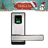 ZKTeco Elektronisches Fingerabdruck Türschloss Automatischer Türöffner mit Bluetooth Biometric Fingerprint Door Lock