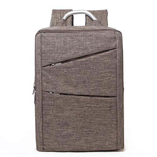 Laptop Travel Fällen (Herren Rucksack Schulter Laptop Fall Wasserdicht Lässig Outdoor Travel,khaki)