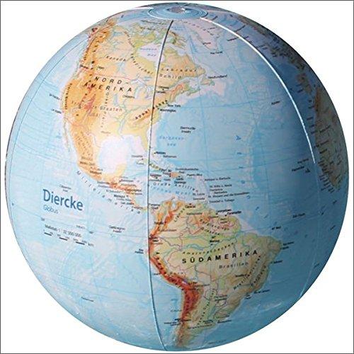 Diercke Weltatlas: Diercke: Wasserball Physisch