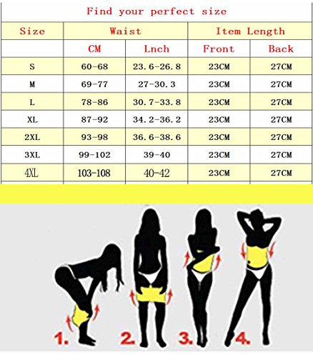 f21d7c585ac9b Chumian Hot Thermal Waist Training Shaper Belt for Women Belly ...