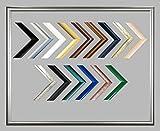 Biggy Kunststoff Bilderrahmen 50x120 cm 120x50 cm Farbauswahl: hier Weiss viele Größen mit spiegelfreiem Acrylglas