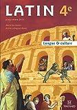 Latin 4e : Manuel élève