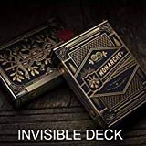 SOLOMAGIA Mazzo Invisibile - Invisible Deck Monarchs Playing Cards by Theory11 - Mazzi Speciali e Truccati - Giochi di Prestigio e Magia