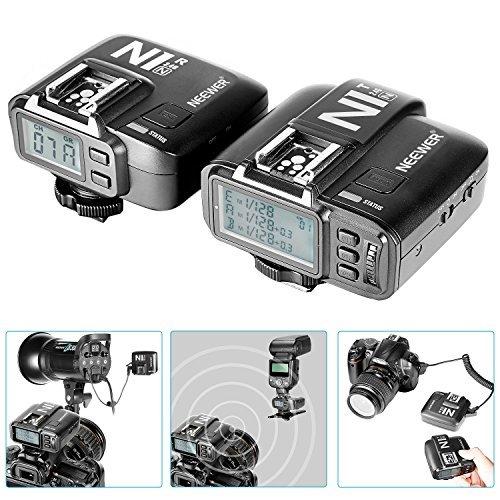 Neewer N1N i-TTL 2.4 G 32 Channels Wireless Flash Trigger( 1*Transmitter+1*Receiver) For Nikon D7200 D7100 D7000 D5300 DSLR Camera,Studio Flash and Flash Speedlite