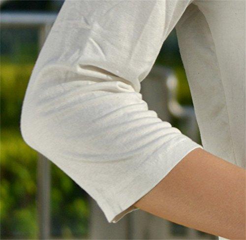 Insun - Gilet - Femme Blanc - Blanc