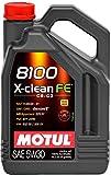 MOTUL 8100 X-CLEAN FE C2/C3 5W30 FUEL ECO DA 5 LITRI