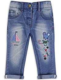 The Essential One - Bebé Infantil Niñas Vaqueros - Azul - EOT321