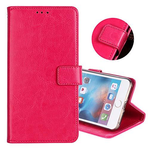 ZYQ Rose PU Leder Tasche Schutz TPU Silikon Gel Hülle Für Oukitel U7 Max Handy Flip Brieftasche Case Cover Etui Klapphülle Handytasche