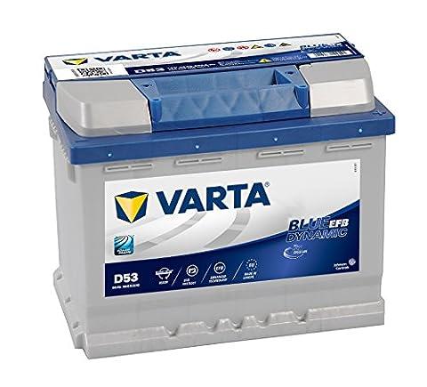 VARTA - BATTERIE VARTA START STOP EFB D53