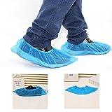 logei® 100pz Copertura di Scarpe Monouso TNT(tessuto non tessuto) Copriscarpe--Blu