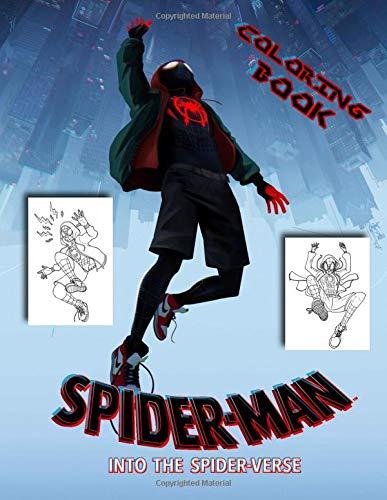 Spider-Man: Into the Spider-Verse Coloring Book por Mark Diaz