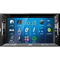 JVC Autoradio 2 DIN Spotify Control mit Bluetooth für VW Golf 5 6 2003-2013 incl Einbauset piano black