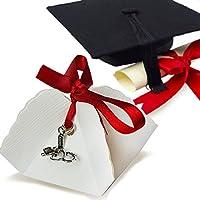 Bomboniera Store – Bombonera Fonendoscopio y tensiómetro a colgante con Packaging y con cinta para graduación
