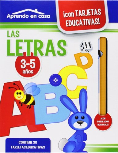 APRENDO EN CASA LAS LETRAS (3-5 años) por Mónica MARTÍNEZ VICENTE