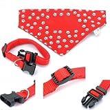 Trade Shop traesiocollare mit Verstellbarer Bandana Halstuch für Hund Hunde alle Größen Fashion