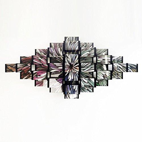 Leggy Pferd stapelbar Bilderrahmen, hoch transparent Wand DIY Collage 10,2x 10,2cm & 10,2x 15,2cm Bilderrahmen superme Anzug 2017, 64Stück, plastik, schwarz, 4