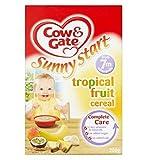 Cow & GateInizio Di Sole Frutta Tropicale Cereali Da 7 Metri In Poi 200G (Confezione da 2)