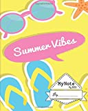Notebook : My Note My Idea,8 x 10, 110 pages : Summer Viber