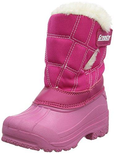 Latupo GmbH - Shoes Glassi, Botas de Nieve Unisex Niños, Rosa (Pink),