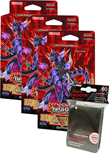 Yugioh! - Machina Reactor & Dinosmasher`s Fury - Structure Deck - Deutsch (3x Dinosmasher`s Fury + 60 - Machina Structure Yugioh Deck