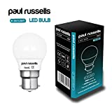 10 Pack 7W GOLF BALL LED Light Bulbs B22 BC Bayonet Paul Russells Bright 7W=60W G45 Small Globe / Round 270 Beam Lamp 6500K Day Light 60W Incandescent Replacement