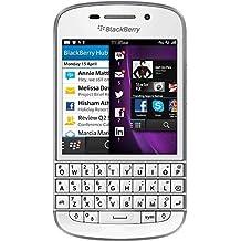 """BlackBerry 10 Q10 - Smartphone 78.7 mm (3.1 """"), 720 x 720 Pixeles, AMOLED, 1.5 GHz, 2048 MB, 16 GB, teclado Qwertz (importado de Alemaña)"""