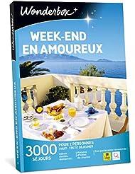 Wonderbox - Coffret cadeau de Noël pour couple - WEEK-END EN AMOUREUX - idée cadeau de noël - 2900 séjours romantiques