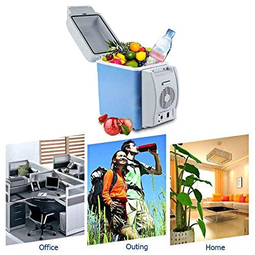 Piyuda Portable 12V 7.5 LTR Auto Travel Keep Food Warm Refrigerator Quality ABS Multi-Function Home Cooler Freezer Warmer