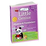 Phonics & Vocabulary II: Kindergarten Workbook (Little Genius Series): Learn Blend Sounds, Sight