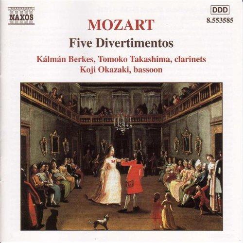 Divertimento in B flat major, K. Anh. 229, No. 1 (use): II. Menuetto: Allegretto